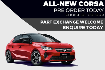 All-New Vauxhall Corsa - £229 A Month   £0 Deposit - PCP