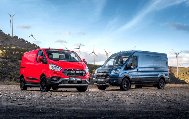 Discover the New Ford Trail and Ford Active models