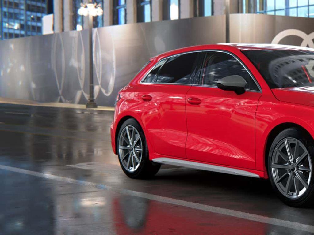 New Audi S3 Sportback in red