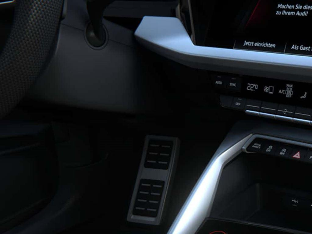 New Audi S3 Sportback Interior Controls