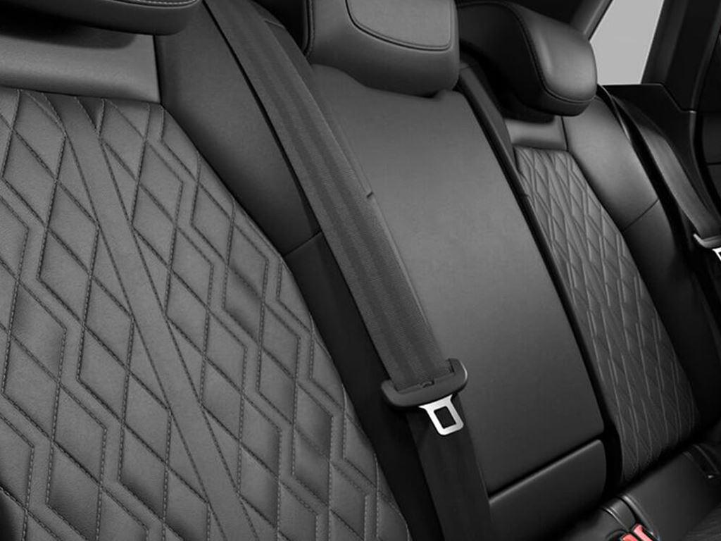 S3 Saloon rear seats