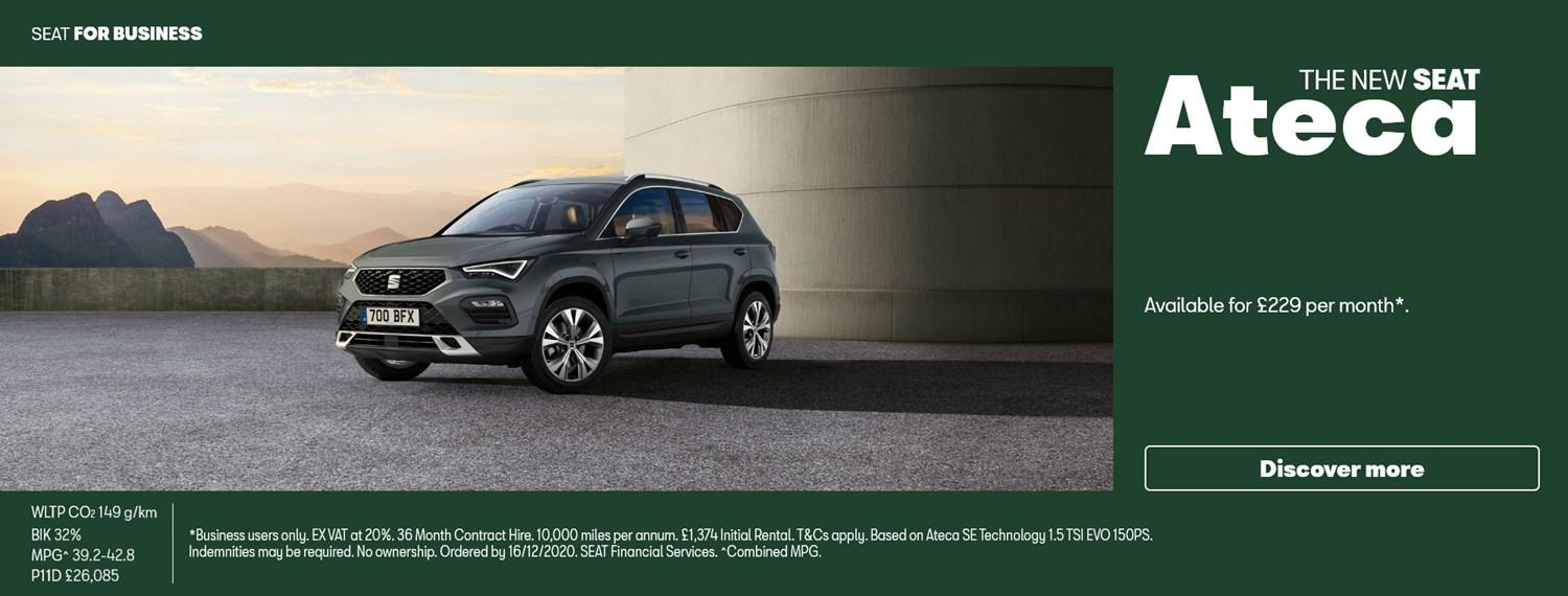 New SEAT Ateca with Business Offer