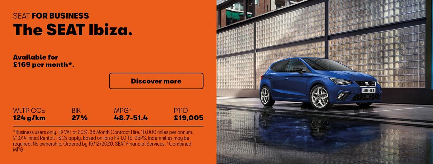 SEAT Ibiza with business offer