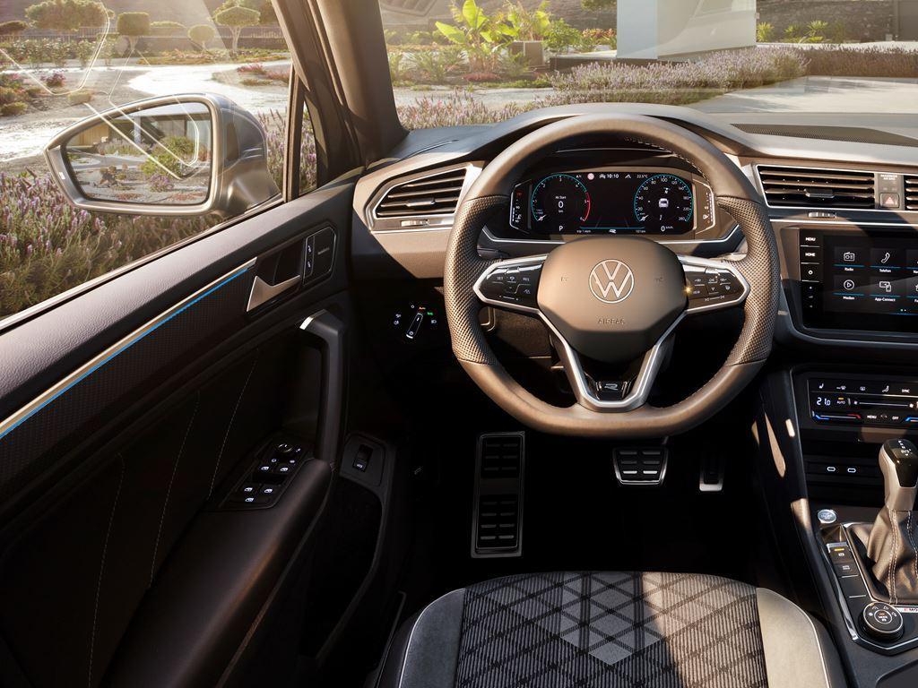 New VW Tiguan Interior