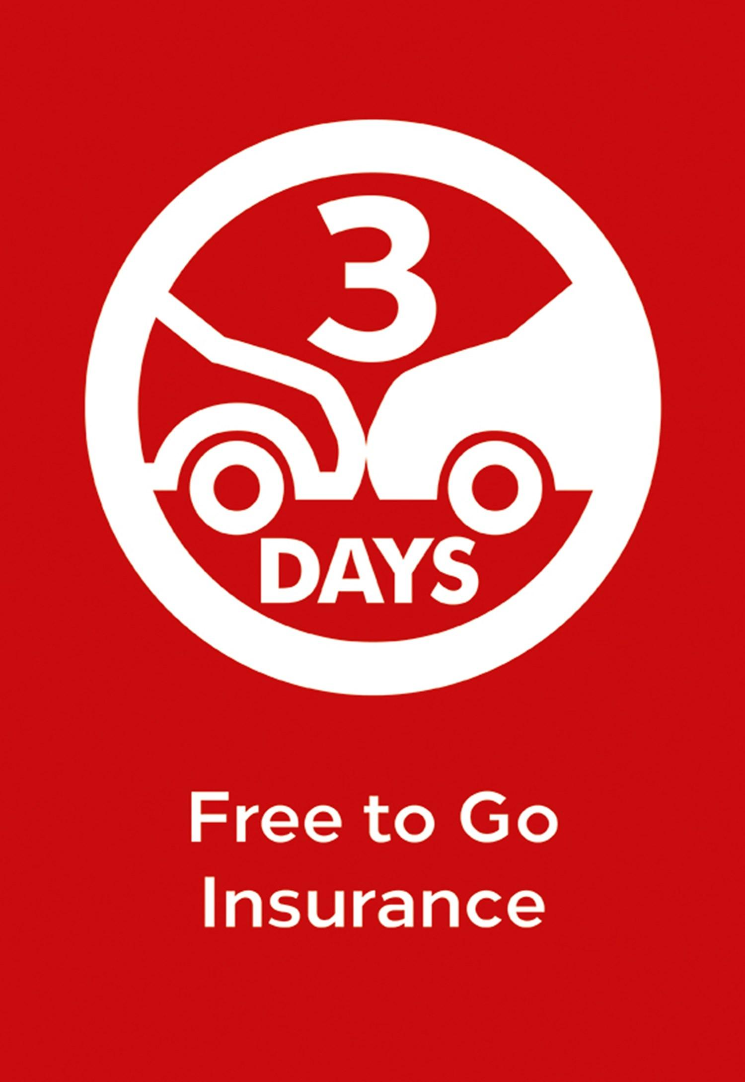 Free To Go Insurance  Wouldn't it be great to buy a car and drive it off the forecourt on the same day? Well, at Network Q you can with our free 3 day insurance policy, Free to go.