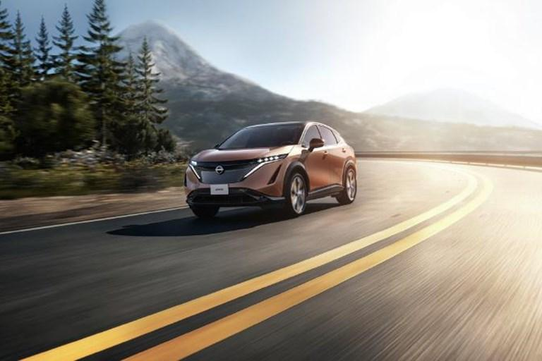 """Welcome to Horizon """"An exploratory journey into the design of the Nissan Ariya"""""""