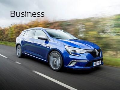 Renault Business - Megane Sport Tourer - Contract Hire