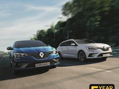 Renault Megane & Megane RS 0% Offer