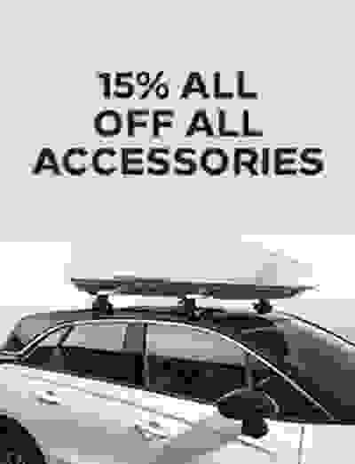 15 % off All Accessories