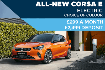 All-New Vauxhall Corsa Electric - £299 A Month With £2,499 Deposit