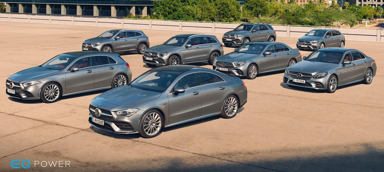 Silver Mercedes-Benz Range