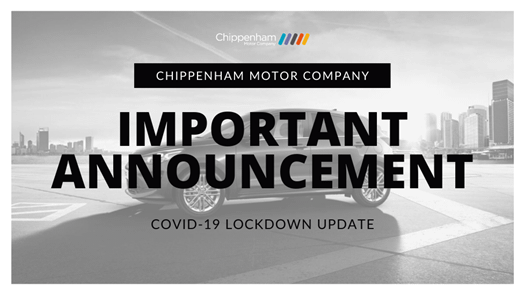 Important Announcement - COVID-19 Lockdown Update