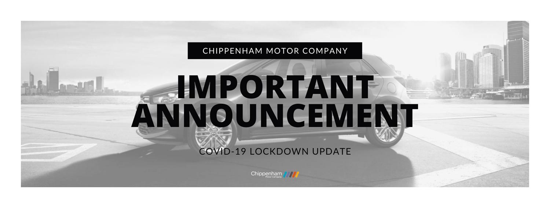 COVID19 Lockdown Update