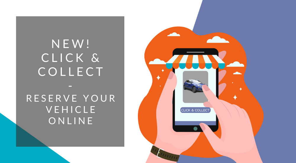 Click and collect buy a vehicle online