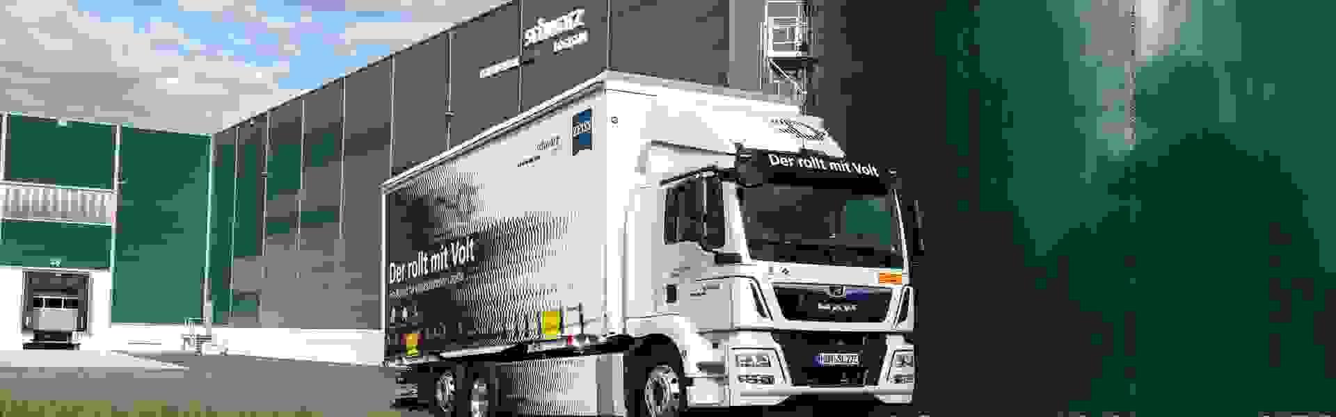 MAN eTGM: Schwarz Logistik commits to fully electric distribution truck