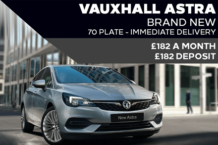 New Vauxhall Astra Light - Now £182 A Month | £182 Deposit