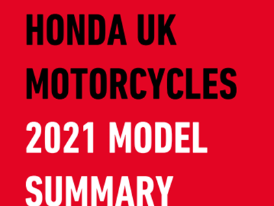 2021 New Release Honda Motorcycles