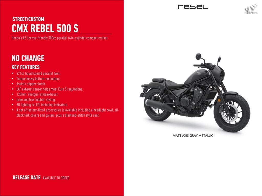 Rebel 500S