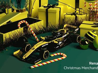 Renault Christmas Merchandise