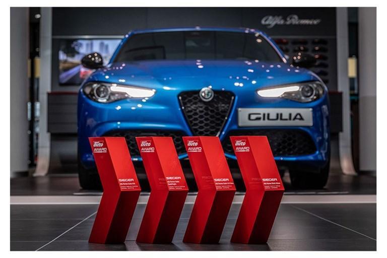 Alfa Romeo Giulia Tops Four Categories at the Sport Auto Awards 2020