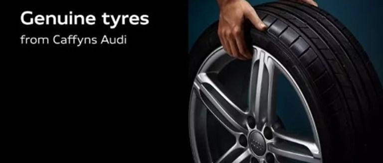 Genuine Tyres from Caffyns Audi
