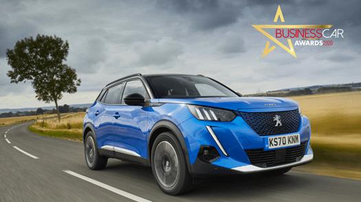Peugeot e-2008 scoops 'Best Electric Car' title