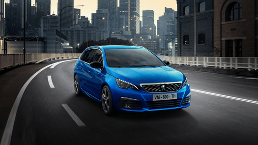 The evolution of the Peugeot 308