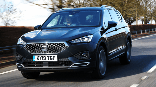 Double win for SEAT Tarraco at Parkers New Car Awards 2021