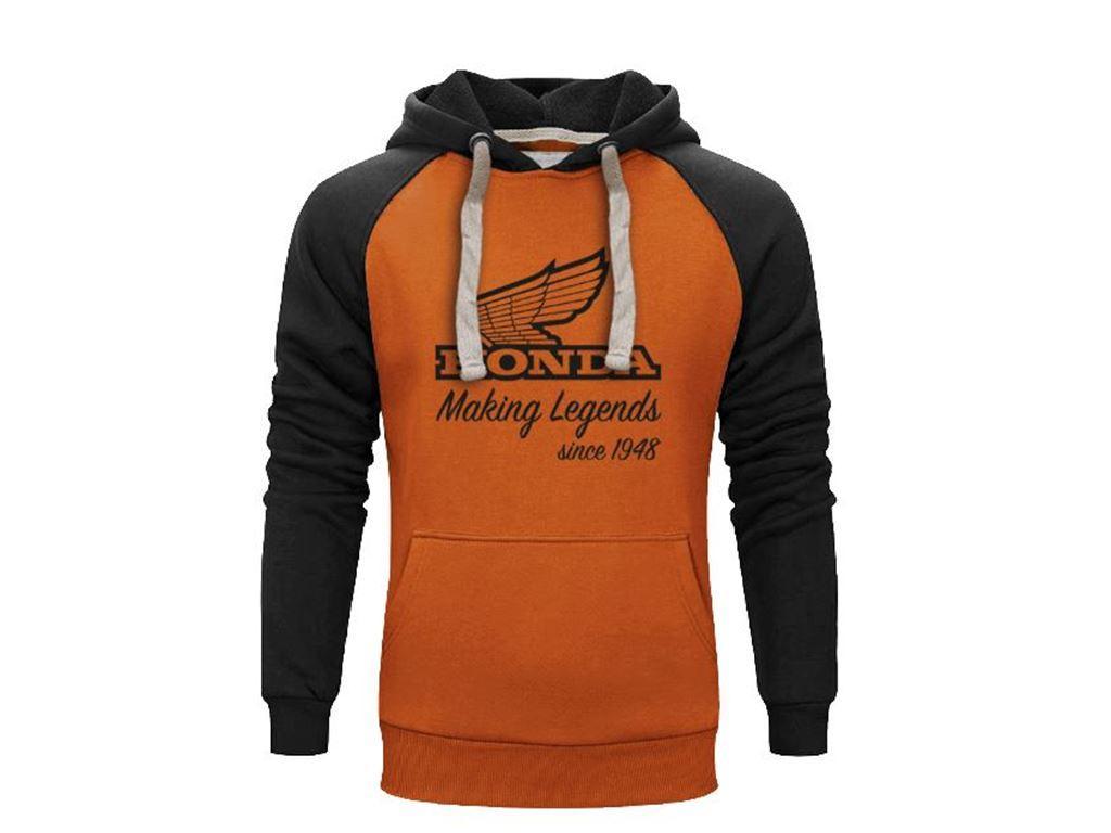 Making legends Orange hoodie