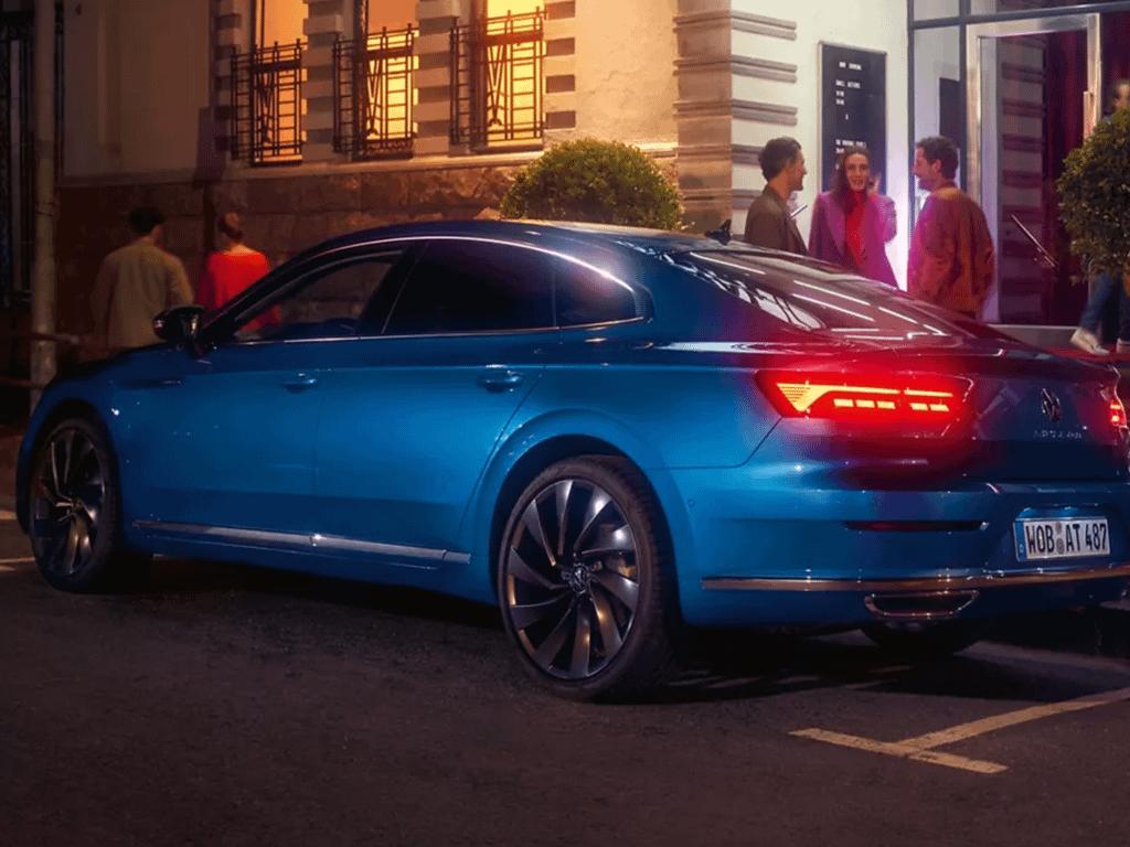 New Volkswagen Arteon exterior in blue