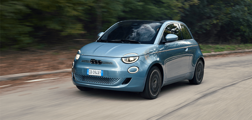 New, 100%-electric, Fiat 500 Range
