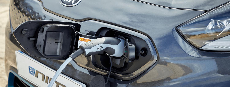 Kia electric vehicle charging