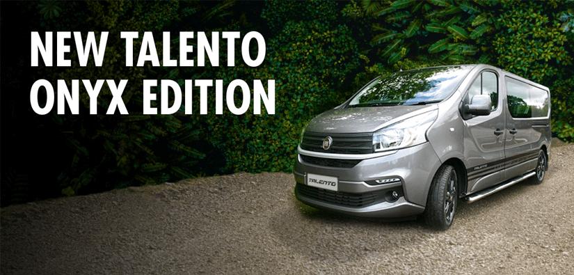 New Fiat Talento Onyx