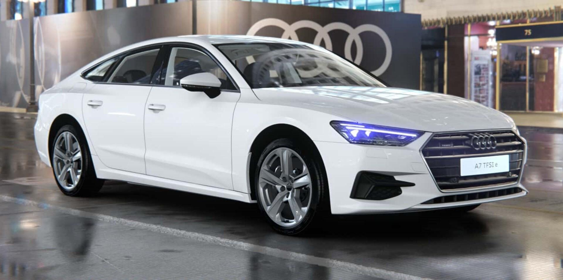 New Audi A7 TFSI e
