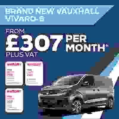 Brand New Vauxhall Van Offer - Vivaro-e