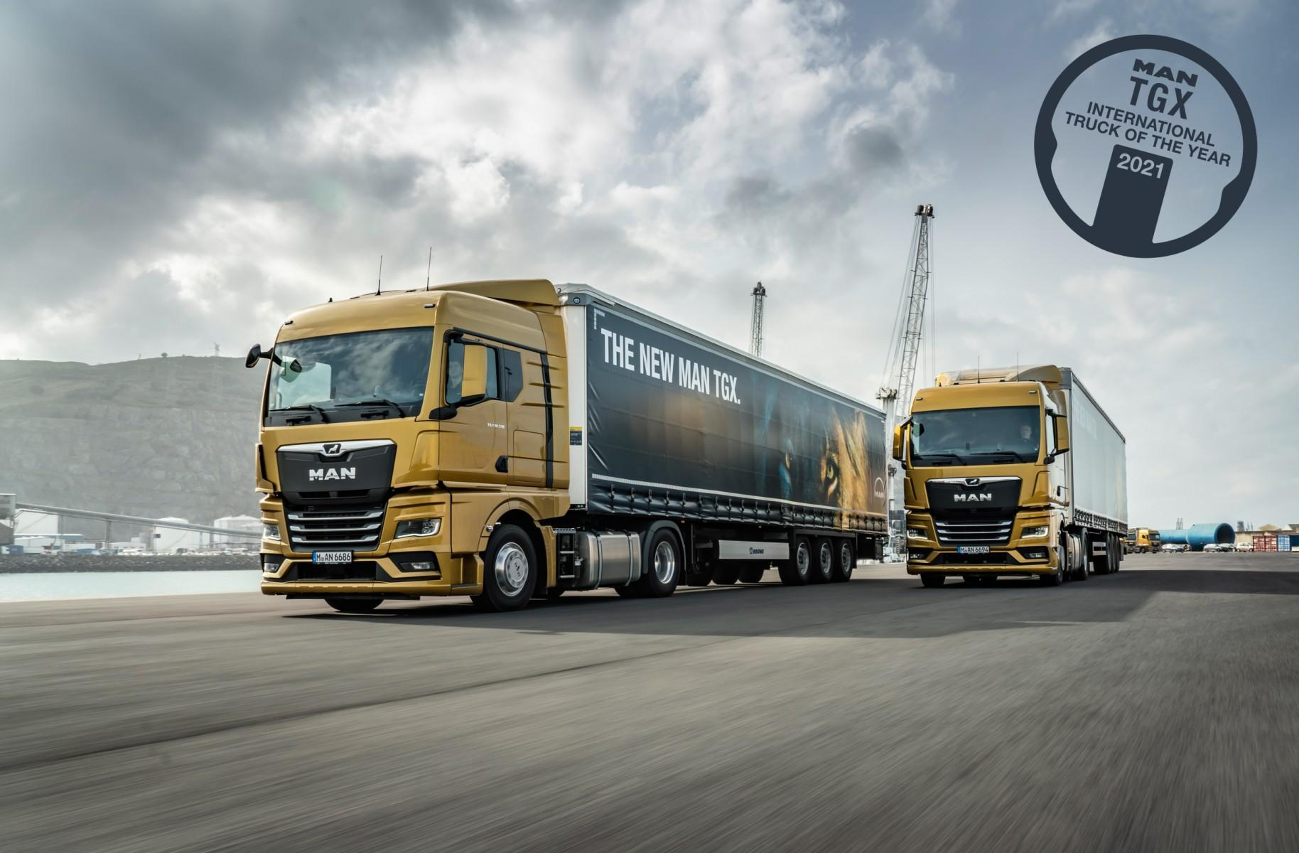 MAN TGX wins International Truck of the Year 2021