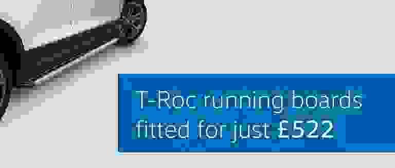 T-Roc Running Boards