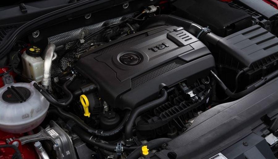 Skoda engine