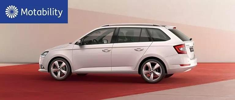 ŠKODA FABIA Estate Motability Offers