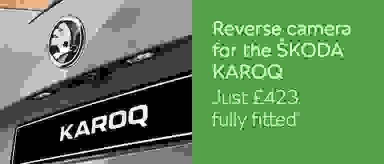 Reverse Camera For ŠKODA KAROQ
