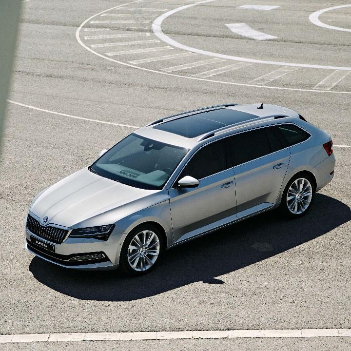Ariel view of new superb estate iv