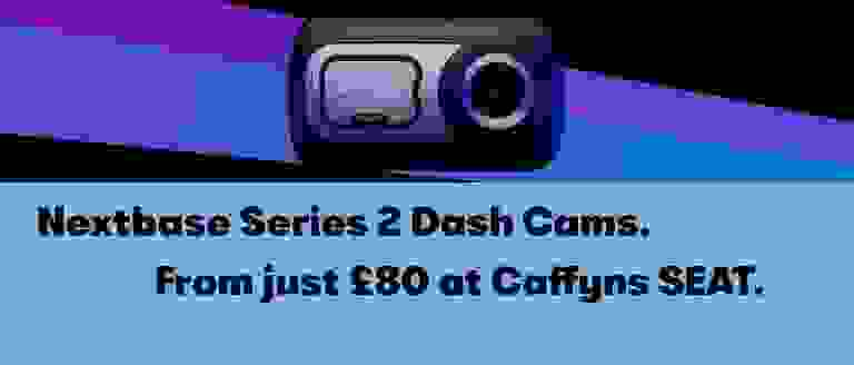 Nextbase Series 2 Dash Cams at Caffyns SEAT