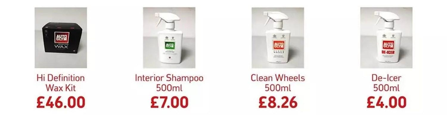 Autoglym Professional Cleaning Products