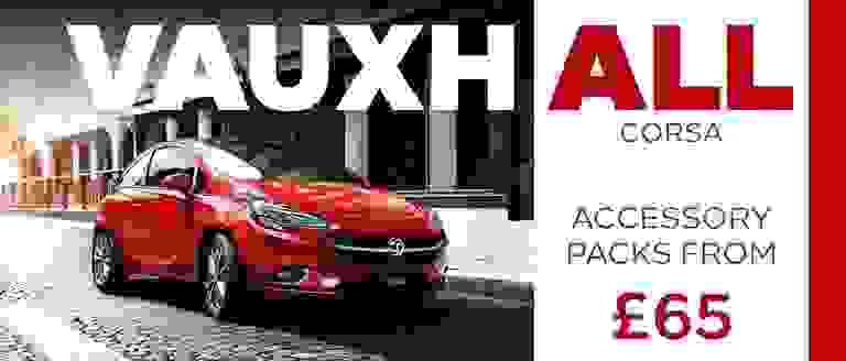 Vauxhall Corsa Accessory Packs