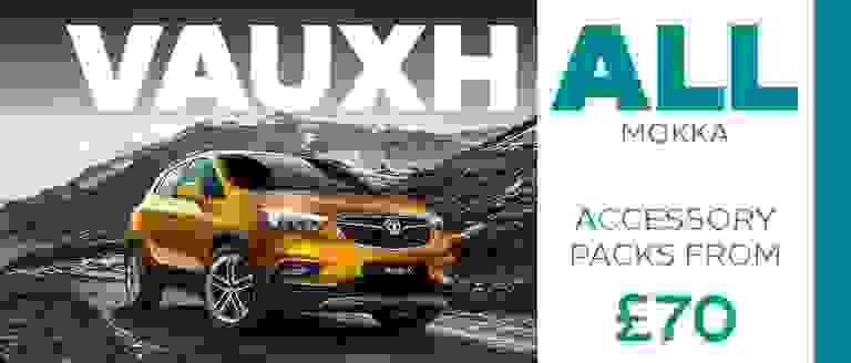 Vauxhall Mokka X Accessory Packs