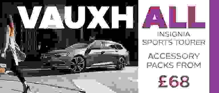 Vauxhall Insignia Sports Tourer Accessory Packs