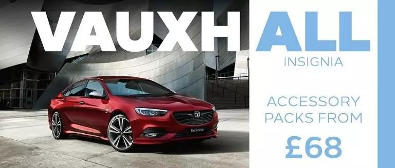 Vauxhall Insignia Accessory Packs