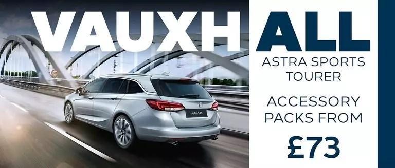 Vauxhall Astra Sports Tourer Accessory Packs