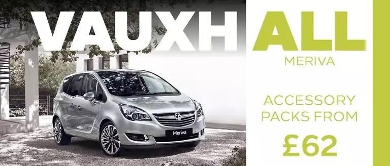 Vauxhall Meriva Accessory Packs