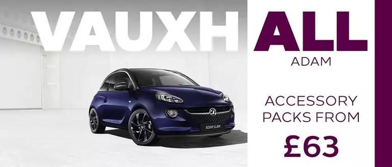 Vauxhall ADAM Accessory Packs